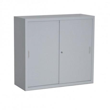 Armoire portes coulissantes H109 L120 P45 cm