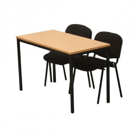 Table polyvalente rectangulaire 120 x 60 cm