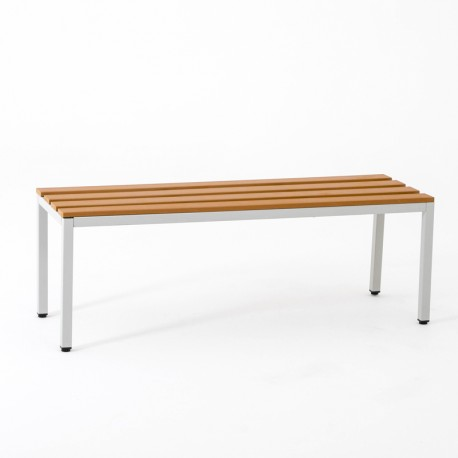 Banc simple 120 cm, Vestimetal