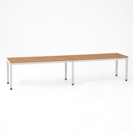 Banc vestiaire simple 2 m