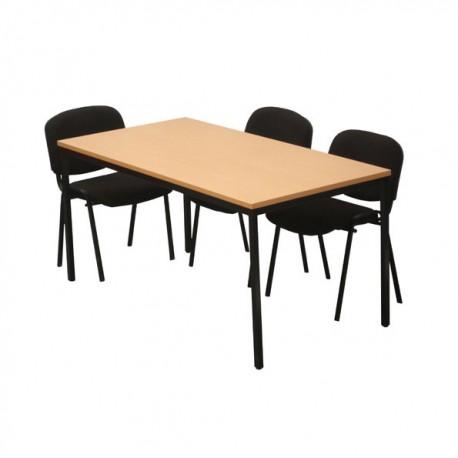 Table polyvalente rectangulaire 160 x 80 cm