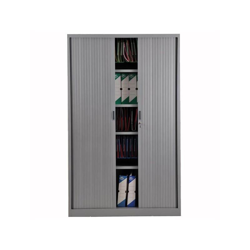 armoire rideaux aluminium 195 x 120 x 46 cm. Black Bedroom Furniture Sets. Home Design Ideas