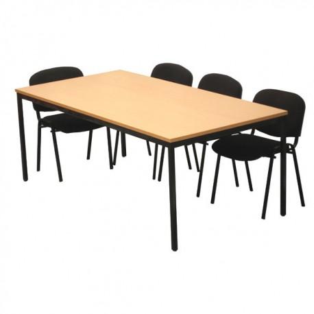 Table polyvalente rectangulaire 200 x 100 cm