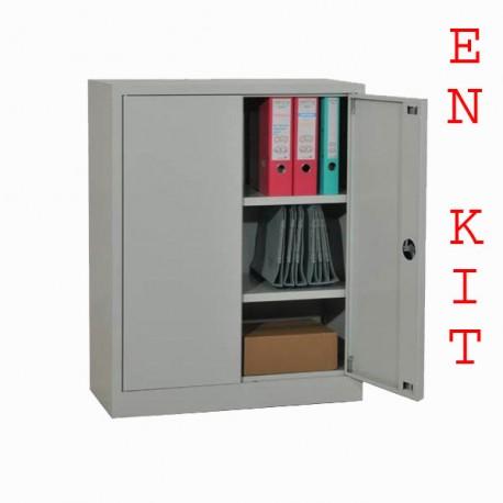 Armoire métallique en kit H100xL80xP40cm