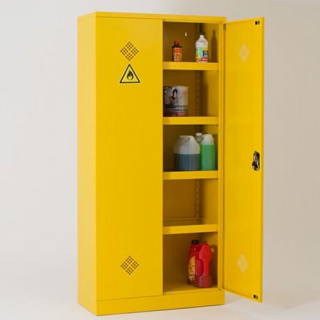 Armoire de sécurité pour produits dangereux / chimiques H195 x L92 x P42 cm