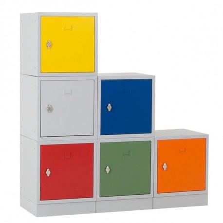 Vestiaire casier multibox Bleu