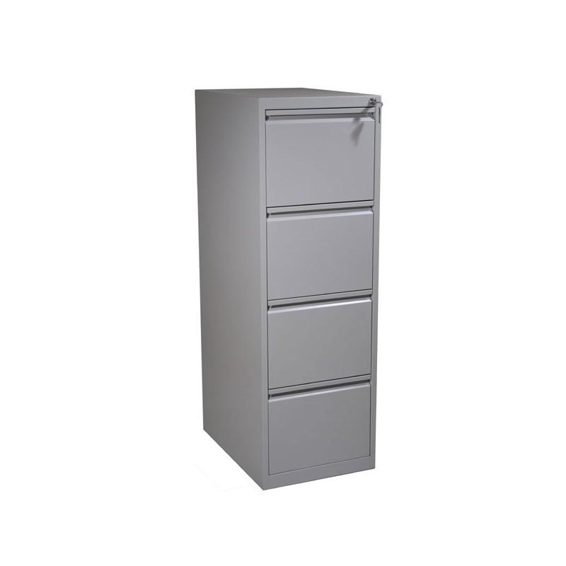 Colonne dossiers suspendus 4 tiroirs meuble classement vestimetal - Colonne metallique rangement ...