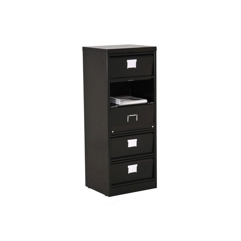 Colonne clapets 5 tiroirs meuble clapets vestimetal for Colonne de tiroirs
