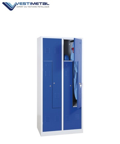 vestiaire armoire metallique casier vestiaires m talliques. Black Bedroom Furniture Sets. Home Design Ideas