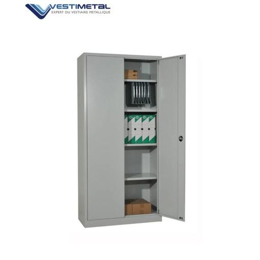 armoire metallique porte battante coulissante ou rideau vestimetal. Black Bedroom Furniture Sets. Home Design Ideas
